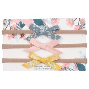 Other - Brand New Set of 3 Baby Girl Headbands 0-12 Months